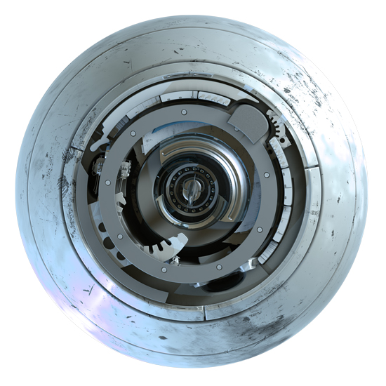 strojopromet-ilustracija-metalne-kugle-pogled-s-prednje-strane